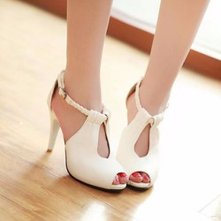 Giày cao gót tết sam cao cấp - LN350