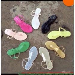 View  Giày Sandal nữ dạng kẹp có quai hậu đơn giản sành điệu SD20