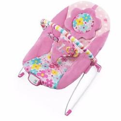 Ghế rung cho bé Bright Starts – Pretty in Pink Butterfly Cutouts