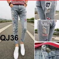 Quần Jeans nam Harem Hàn Quốc mới 2016 qj36