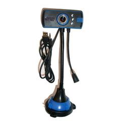 Webcam chân cao siêu nét có Mic hỗ trợ 3 đèn Led