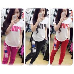 Bộ mặc nhà Pink
