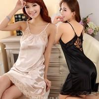 Đầm ngủ phi bóng quyến phần lưng cực kì sexy mẫu 2016-120