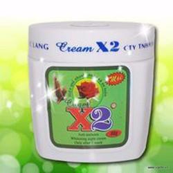 Kem dưỡng trắng da toàn thân - X2