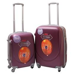Bộ 2 vali nhựa dẻo 20 + 24 inch