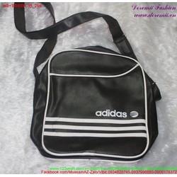 Túi đeo đi học đi chơi sọc trắng phong cách TDHDC35