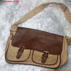 Túi đeo đi học đi chơi hai khóa gài năng động TDHDC10