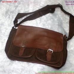 Túi đeo đi học đi chơi vải nhung đáng iu TDHDC7