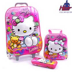 Bộ VaLi 3 Trong 1 Hello Kitty Cho Bé