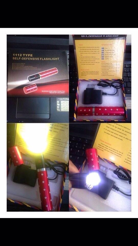 Đèn Pin Thỏi Son Chích Điện 3