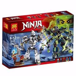 Hộp Ráp NinjaGo - Tjtan Mech Đại Chiến Marvel Ninja