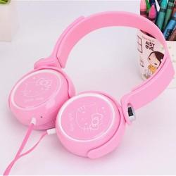 Tai Nghe Headphone Hello Kitty