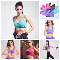 TT 21 - Áo thể thao nữ dây kéo tập Gym Yoga Aerobic