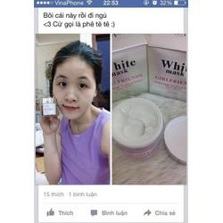 MẶT NẠ Ủ TRẮNG DA WHITE MASK