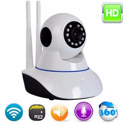 Camera IP Wifi 2 Anten quay 360o