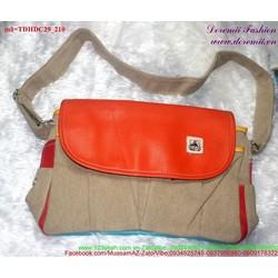 Túi đeo đi học đi chơi phối màu độc đáo sành điệu TDHDC29