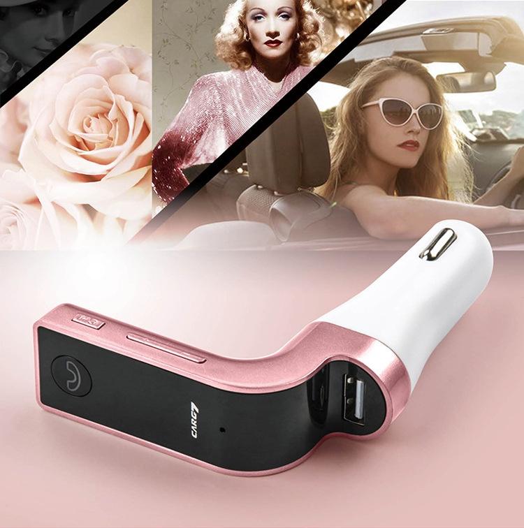 TẨU SẠC MP3 Bluetooth 5 trong 1 cho ô tô Car G7 2