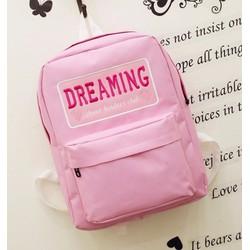 Balo nữ đi học màu hồng xinh