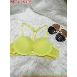 Áo ngực phối dây ren sành điệu phong cách DLV108