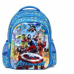 Balo học sinh 5D mẫu mới 2016 với họa tiết phim Người hùng Avengers