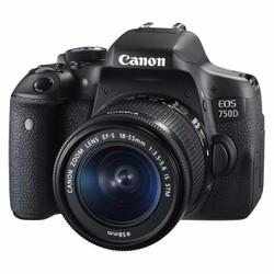Máy Ảnh Canon EOS 750D + 18-55