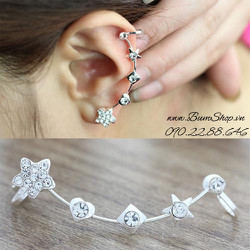 Bông tai vành ngôi sao xinh xắn - 1 chiếc