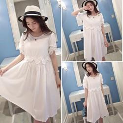 Đầm suông thời trang, thiết kế mới trẻ trung, phong cách nữ tính-D2429