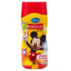 Dầu gội và xả Eskulin Kids Donald - Mickey - Minnie 200ml