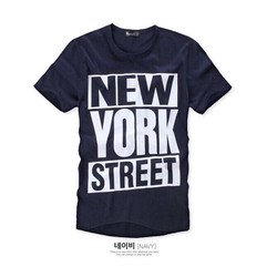 KAT17 - ÁO THUN NAM NEW YORK  CÁ TÍNH