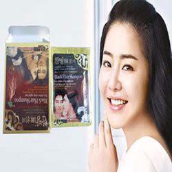 Dầu Gội Đen Tóc Black Hair Shampoo gội là đen của Hàn Quốc