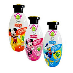 Sữa tắm Disney Eskulin 250ml - Xanh, Hồng, Cam