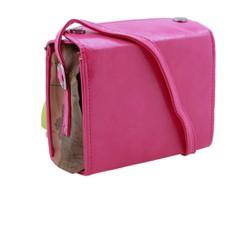 Túi đeo chéo mini màu hồng xinh xắn