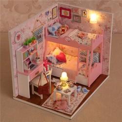 Mô hình nhà gỗ DIY kute room