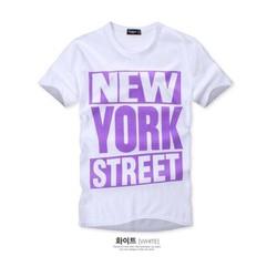KAT18 - ÁO THUN NAM NEW YORK  CÁ TÍNH