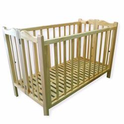 VINANOI VNC-G301 - Giường cũi gấp xếp cao cấp cho bé 2 tầng gỗ thông