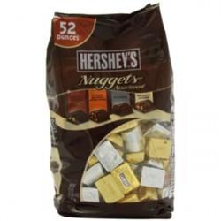 Kẹo Chocolate Hershey Nuggets 1.47kg Mỹ