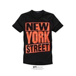 KAT16 - ÁO THUN NAM NEW YORK  CÁ TÍNH