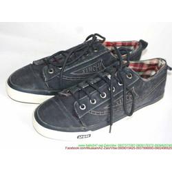 Giày thể thao nam cổ thấp vải jean phong cách sành điệu GTA87