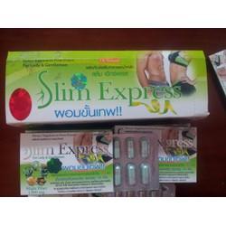 Thuốc Giảm Cân Slim Express Thái Lan linh chi chính hãng cho nam và nữ