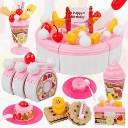 Bộ đồ chơi cắt bánh sinh nhật Luxury cho bé