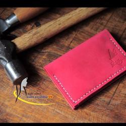 Ví Da Handmade Olug Đựng Giấy Tờ, Hộ Chiếu, Name Card Mã SP 749