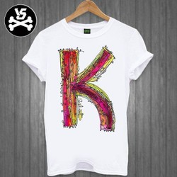 Áo thun in chữ K