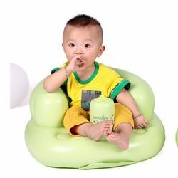 Ghế hơi tập ngồi, tập ăn tiện lợi cho bé