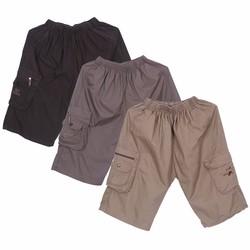 Bộ 3 Quần Shorts Sooc Kaki Nam Đai Thun Túi Hộp Hàn Quốc Chất Đẹp CS4