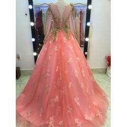 áo cưới hồng dâu ren 3d cực xinh nhé