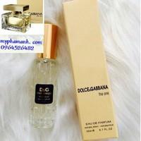 Nước hoa chiết sách tay chính hãng pháp Dolce và Gabbana The One
