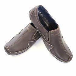 Giày Lười Màu Nâu Đen Phong Cách