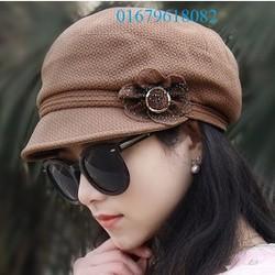 nón mũ lưởi trai nữ cao cấp thiết kế mới phong cách Hàn