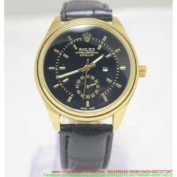 Đồng hồ nam dây da Ro phong cách sang trọng đẳng cấp DHNN113