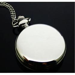 Đồng hồ quả quýt Bạc Trơn 5.0